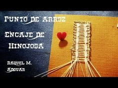 Raquel M Adsuar Bolillotuber Lacemaking, Lace Heart, Lace Jewelry, Bobbin Lace, Lace Detail, Projects To Try, Knitting, Youtube, Pattern