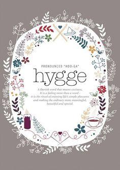 Loving the hygge life!