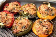Peperoni ripieni di tonno al forno ricetta blog il mio saper fare