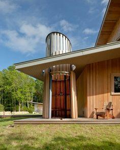 Farm/ranch outdoor shower.