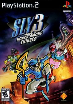 Fantastic conclusion to the PS2 era Sly games. The gameplay was so varied and diverse; I loved it.