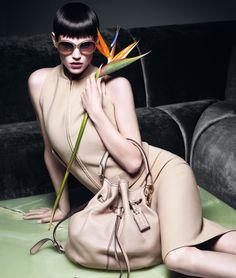 MaxMara campaign Spring Summer 2012 - Strelitzia reginae