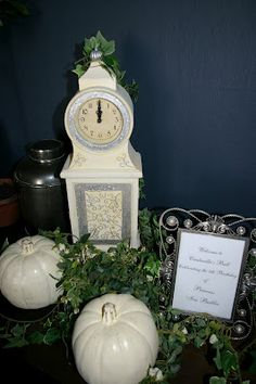 Tablescape for a Cinderella party!