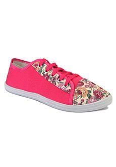 37e2f79f621 Yepme Casual Shoes - Fuchsia  women  footwear  shoes  laceup  floral  style   girls  summer  fashion  cute. Yepme Shopping