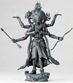 Ashura - Revoltech - Revoltech Takeya #03EX - Bronze Ver. (Kaiyodo)