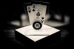 Poker trophy  designed and made @ Atelier13 www.atelier13.ro