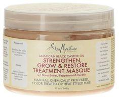 Shea Moisture Masque Strength Grow and Restore 12oz Castor Oil (2 Pack) >>> Visit the image link more details.