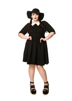 Domino Dollhouse - Plus Size Clothing: Wednesday Dress