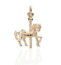 CBStark Jewelers - Carousel Horse charm in 14k gold, $550.00 (http://www.cbstark.com/jewelry/carousel-horse-charm-in-14k-gold/)