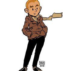 Tintin 2018 sketch :) #sketch #pencil #doodle #applepencil #procreate #tintin #2018 #herge #belgium #smile #hipster #picoftheday #instagood #instaart #cartoon #yeocartoons #yeo