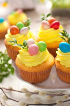 Polish Recipes, Easter Recipes, Mini Cupcakes, Tea Party, Food And Drink, Sweets, Sugar, Baking, Desserts