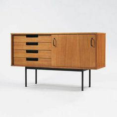 sideboard+-+Pierre+Guariche++for+Meubles+TV+c1950s.