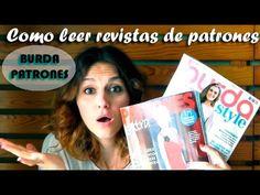 COMO LEER LAS REVISTAS DE PATRONES Y BURDA