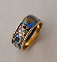 Authentic New Frey Wille Emilie Floge 24K Enamel Ring | eBay