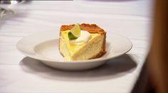 Limoencheesecake met een klodder slagroom uit My Kitchen Rules - Net5
