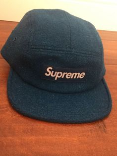 Supreme wool Camp Cap teal blue NEW WITH TAG  fashion  clothing  shoes   accessories  mensaccessories  hats (ebay link) 83c63982c016