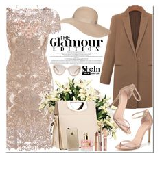 """""""Shein"""" by oshint ❤ liked on Polyvore featuring Stuart Weitzman, Christian Louboutin, Rifle Paper Co, Prada, Topshop and shein"""