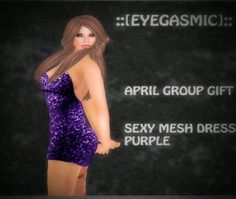 Second Life Freebies and more: Eyegasmic April