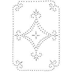 Pie Tin Punching Patterns