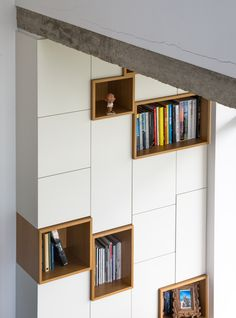 cases de rangement dans meuble color placards pinterest case de rangement rangement et. Black Bedroom Furniture Sets. Home Design Ideas