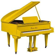 An exclusive range of self playing pianos. Browse our stunning Grands, Baby Grands, Upright & Designer pianos today! Piano Brands, Piano For Sale, Baby Grand Pianos, A Kind Of Magic, Upright Piano, Playing Piano, Mellow Yellow, Color Yellow, Architecture Photo