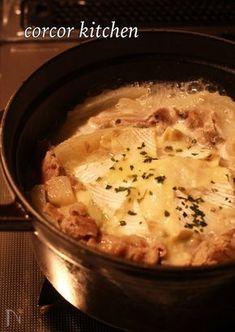 豚バラと白菜のカマンベールチーズ鍋