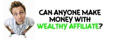 This question often strikes people who plan to go for the Wealthy Affiliate coaching program. I've been on this stage and I remember finding no answers to my question at that point of time. So is it really possible for anyone to make money with Wealthy Affiliate?  http://letslearntoearnonline.com/can-anyone-make-money-with-wealthy-affiliate