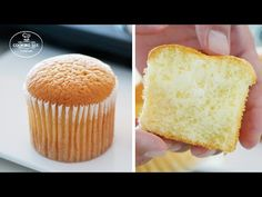 How to make fluffy cupcake Donut Recipes, Cupcake Recipes, Cupcake Cakes, Fluffy Cupcakes, Sugar Cake, Pan Dulce, Diy Cake, Sweet Cakes, Cookie Desserts