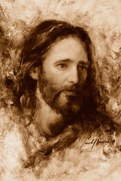 Picture of Merciful Savior Jesus Face, God Jesus, Pictures Of Jesus Christ, Lds Art, Jesus Christus, Christen, Christian Art, Religious Art, Jesus Loves