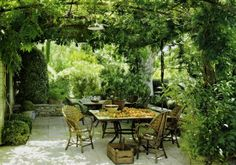 Pergola bauen oder wie kann man eine Gartenlaube selbst errichten