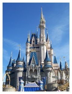 Magic Kingdom from my Disneyland trip.