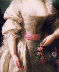 sommartidsvarmod:  Portrait of Madame du Barry, byLouise ÉlisabethVigée Le Brun (detail)c. 18th centurysource