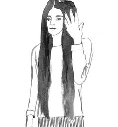 Girls : Leah Reena Goren Leah Goren, How To Draw Hands, Portraits, Animation, Illustrations, Drawings, Girls, People, Inspiration