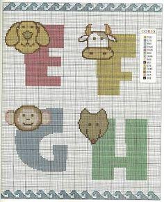 Resultado de imagem para graficos de porquinho para bordar ponto cruz