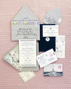 elegant paris france wedding stationery- one day Invitation Fete, Invitation Design, Wedding Stationary, Wedding Invitations, Paris Invitations, Calligraphy Invitations, Elegant Invitations, Parisian Wedding, French Wedding