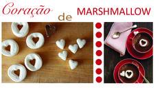 Marshmallow de coração para o Dia dos Namorados. Veja o vídeo https://www.youtube.com/watch?v=MnDlMr4WbXo