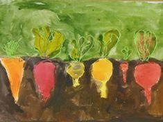 SYKSY - Päästä lintu lentoon - Vuodatus.net Autumn Crafts, Autumn Art, Autumn Trees, School Art Projects, Art School, Crafts To Make, Crafts For Kids, Harvest Farm, Farm Art