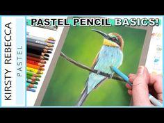How To Use Pastels, Soft Pastels, Chalk Pastels, Pastel Crayons, Pastel Pencils, Colored Pencils, Doodle Drawings, Animal Drawings, Pencil Drawings