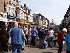 Many Saturdays at the massive Walthamstow Market. Read all about our favourite markets right here: http://londonliving.at/londons-top-5-markets/