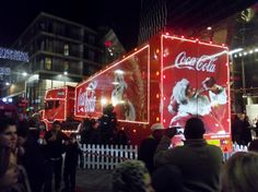 I visited Leicester`s Highcross shopping centre to see the well known Coke-Cola truck as it visited the city as part of a nationwide Christmas tour. My film aims to capture the festive atmosphere as the coke-cola singers sing a variety of Christmas songs. Coca Cola Christmas, Christmas Truck, Leicester, Coke, Trucks, Photography, Coca Cola, Photograph, Fotografie