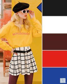 ¿Con qué colores combina el amarillo? No tengas miedo de usarlo si sigues estos patrónes de colores.