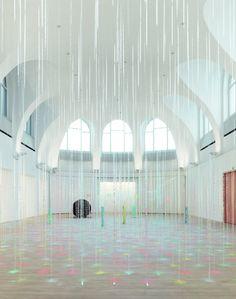 Karla Black, Kestnergesellschaft, Hannover, Germany, 2013. via contemporary-art-blog on Tumblr