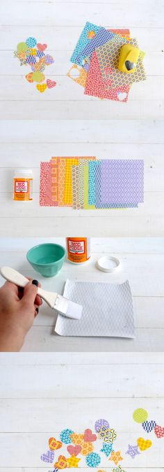 Did you know you can easily make stickers with just two ingredients, including Mod Podge? You probably have the supplies in your house already!