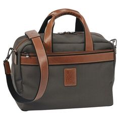 Longchamp Boxford Carry-on Travel Bag (€220) ❤ liked on Polyvore featuring bags, luggage and brown