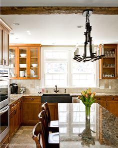 California Spanish Revival Kitchen With Large Integrated Gorgeous Kitchen Designers Boston Design Decoration