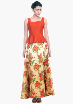 wedding wear latest Indian floral trends.