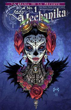 Lady Mechanika: La Dama de la Muerte # 1 - Variant Cover by Joe Benitez and Sabine Rich