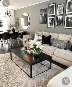 37 Stunning Neutral Decor Ideas For Your Living Room - Home Design World Living Room Ideas 2019, Casual Living Rooms, Comfortable Living Rooms, Living Room Modern, Home Living Room, Apartment Living, Living Room Decor, Bedroom Decor, Small Living Room Designs