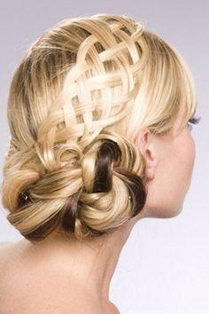 Braided  Hair Upstyles