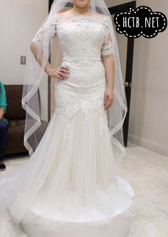 Amazing Wedding Dress at Here Comes the Bride in San Diego California